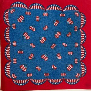 Accessories - NWOT Square scarf Bandana Neck Face Mask